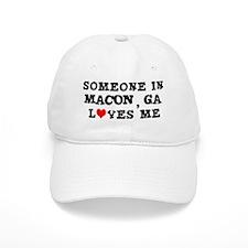 Someone in Macon Baseball Cap
