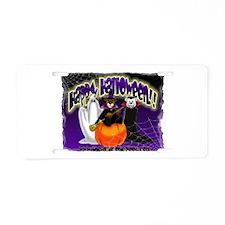 NEW! 3 Halloween Bears Aluminum License Plate