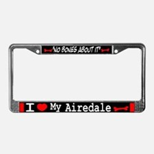 Airedale Gifts License Plate Frame