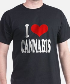 I Love Cannabis T-Shirt