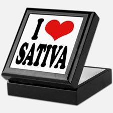 I Love Sativa Keepsake Box