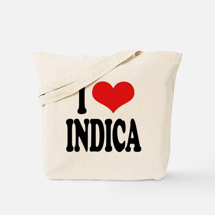 I Love Indica Tote Bag