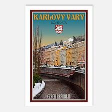 Winter in Karlovy Vary Postcards (Package of 8)