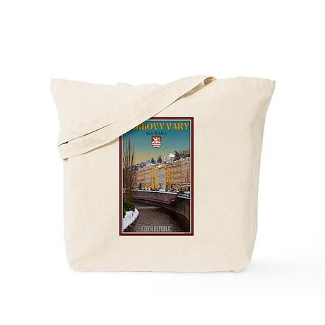 Winter in Karlovy Vary Tote Bag
