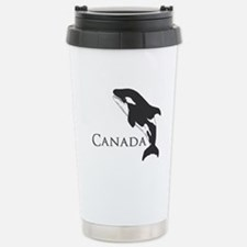 Whale Song Stainless Steel Travel Mug