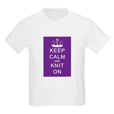 Keep Calm and Knit On T-Shirt