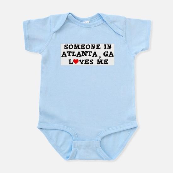 Someone in Atlanta Infant Creeper