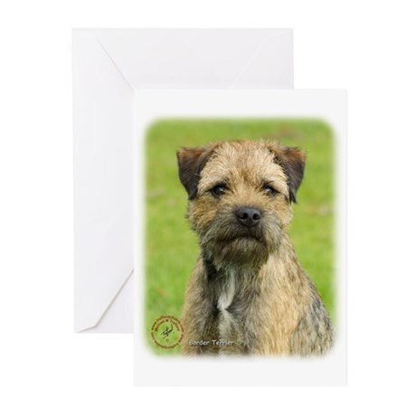 Border Terrier 9R086D-138 Greeting Cards (Pk of 20