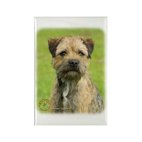 Border Terrier 9R086D-138 Rectangle Magnet (100 pa