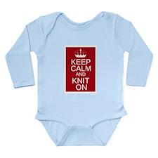 Customisable Keep Calm and Kn Long Sleeve Infant B