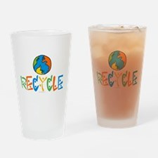 Recycling Drinking Glass