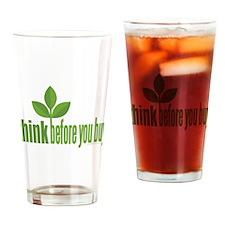 Buy Green Drinking Glass
