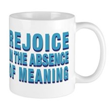 Absence of Meaning Small Mug