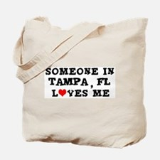 Someone in Tampa Tote Bag