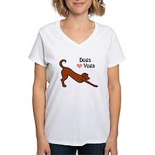 Dogs Love Yoga Shirt