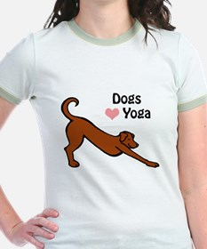 Dogs Love Yoga T