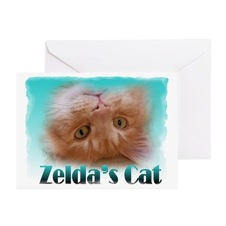 Famous Cats - Zelda's Cat Greeting Cards (Pk of 10