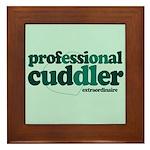 Professional Cuddler Framed Tile