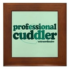 Professional Cuddler Framed Tile