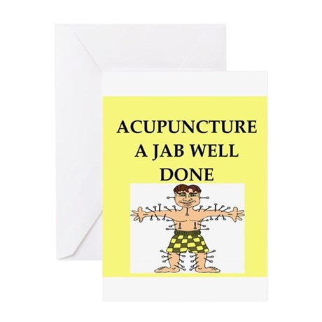 acupuncture Greeting Card