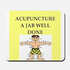 acupuncture Mousepad