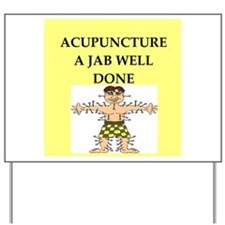 acupuncture Yard Sign