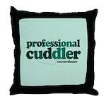 Professional Cuddler Throw Pillow