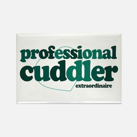 Professional Cuddler Rectangle Magnet