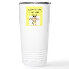 acupuncture Travel Coffee Mug