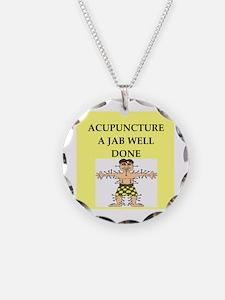acupuncture Necklace