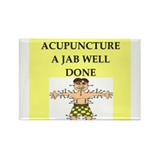 acupuncture Rectangle Magnet (10 pack)