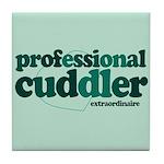 Professional Cuddler Tile Coaster
