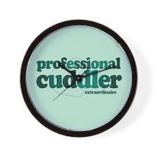 Professional Cuddler Wall Clock