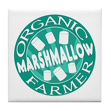 Marshmallow Farmer Tile Coaster