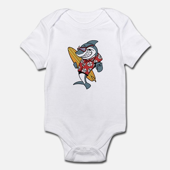 Surfer Shark Infant Bodysuit