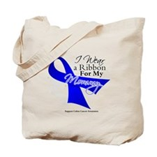Mommy Colon Cancer Tote Bag