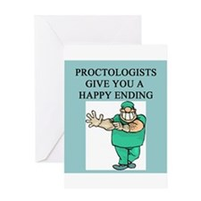 proctologist Greeting Card