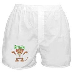Little Monkey Brady Boxer Shorts