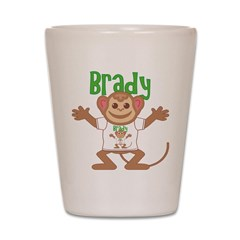 Little Monkey Brady Shot Glass