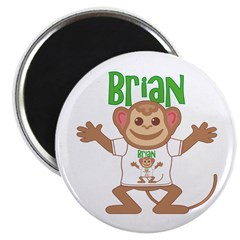 Little Monkey Brian Magnet