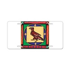 Bird of Prey Birding Aluminum License Plate