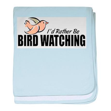 Bird Watching baby blanket