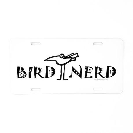 Birding, Ornithology Aluminum License Plate