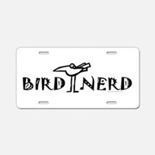 Birding, Ornithology Aluminum License Plate