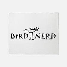 Birding, Ornithology Throw Blanket