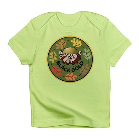 Black Gold Composting Infant T-Shirt