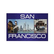 ABH San Francisco Rectangle Magnet