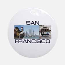 ABH San Francisco Round Ornament