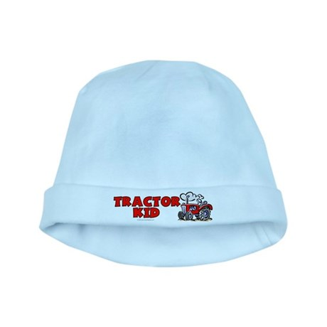 Red Tractor Kid baby hat