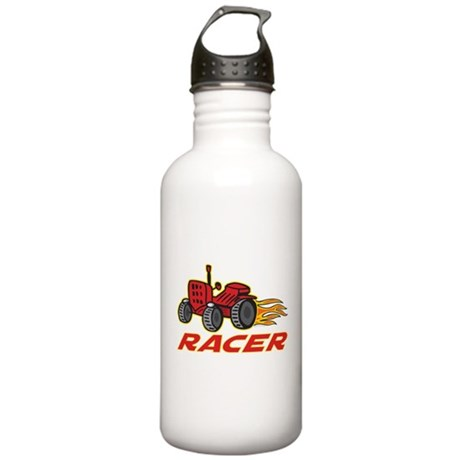 Tractor Racing Stainless Water Bottle 1.0L